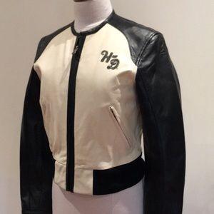 Ladies Harley-Davidson leather bomber jacket